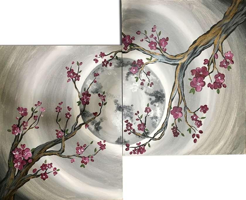 Cherry Blossom Moon Date Night - In Studio Event