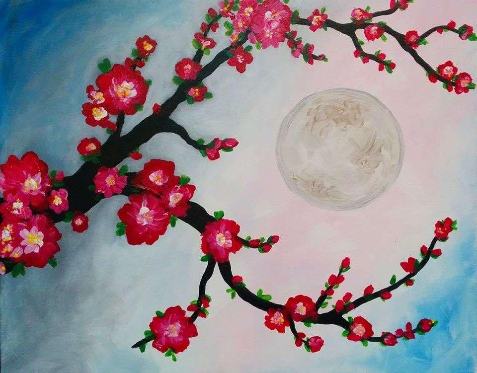 Cherry Blossom Morning