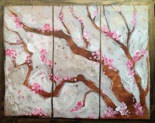 Cherry Blossom Screen