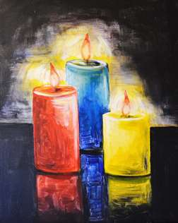 Chiaroscuro Candles