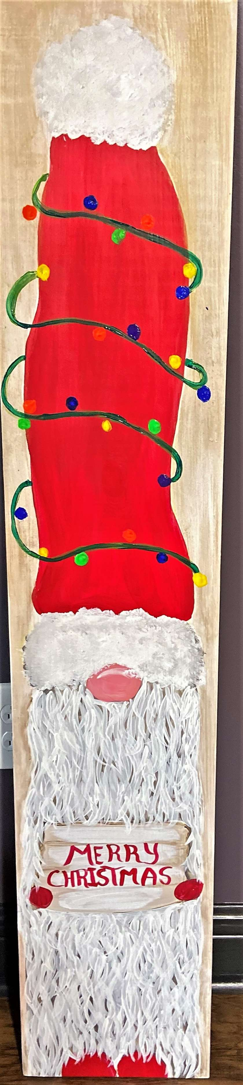 Christmas Gnomie Porch Sign