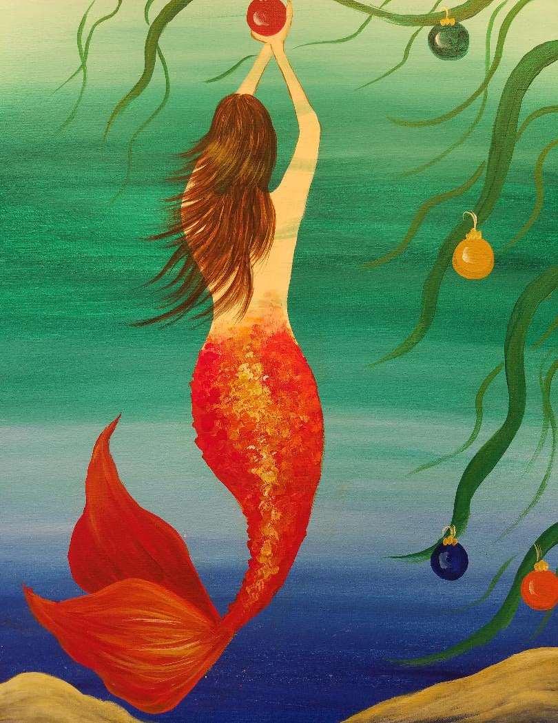 Christmas Mermaid