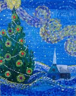 Christmas Starry Night