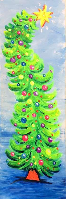 Christmas Tree Aglow!