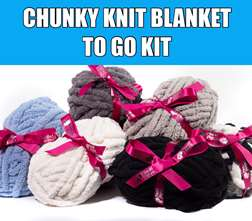 Chunky Blanket Take Home Kit w/ Video Tutorial