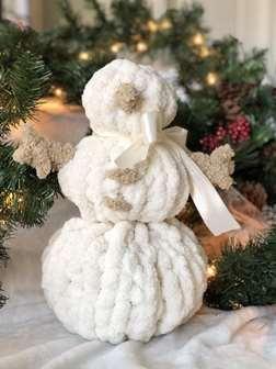 Chunky Knit Snowman