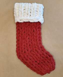 Chunky Knit Stocking