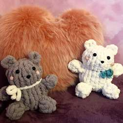 Chunky Knit Teddy