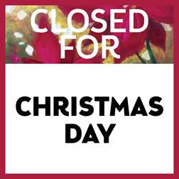 Closed for Christmas Day