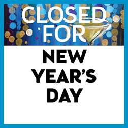 Closed for New Year's Day