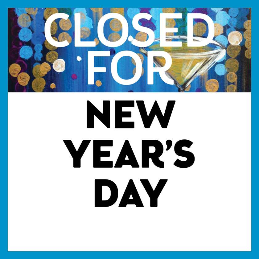 closed for new years day