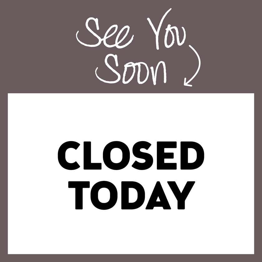 STUDIO CLOSED FROM AUGUST 1-9