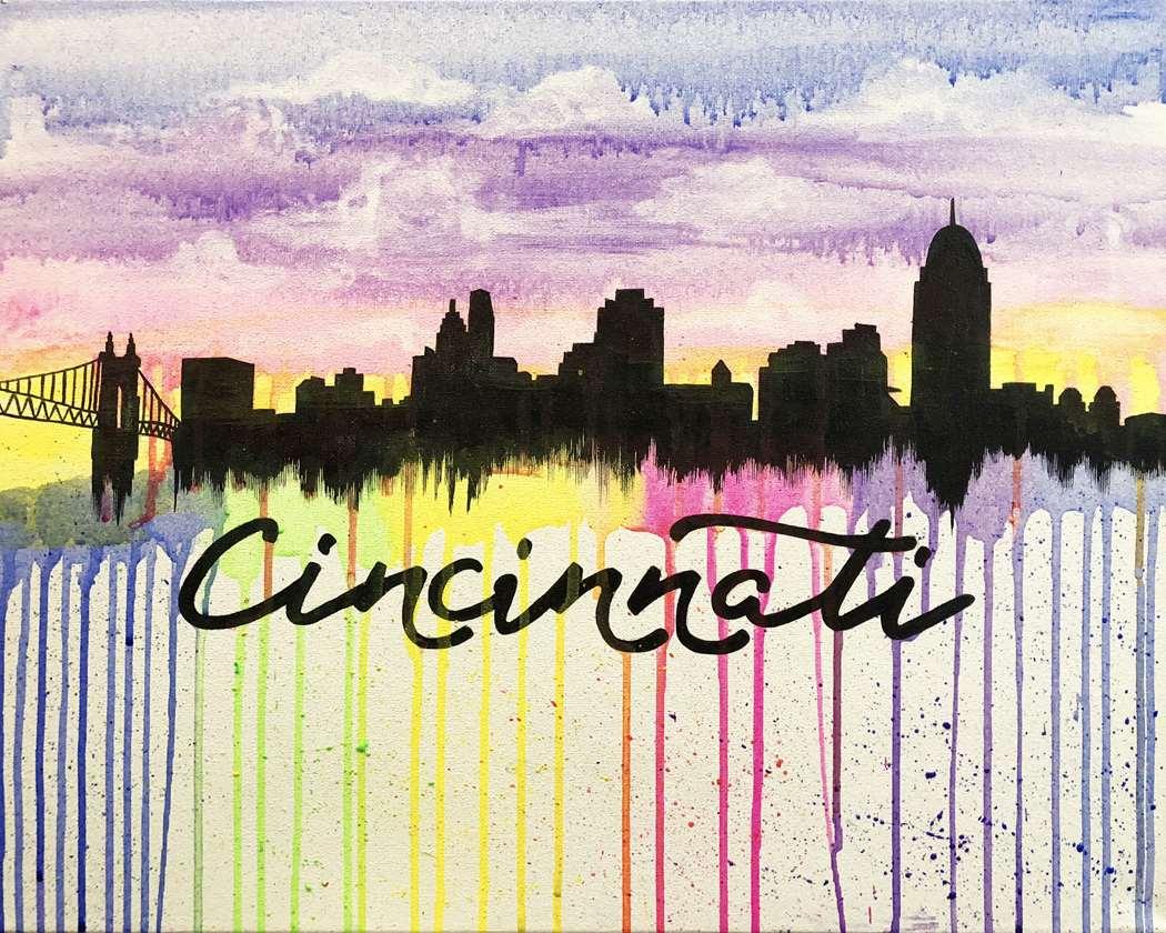 Color Me Cincinnati!!