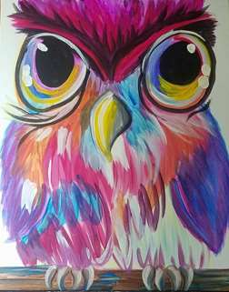 Color Me Owl