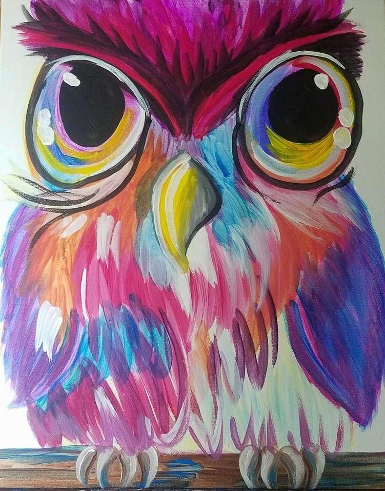 In Studio Event  - Color Me Owl