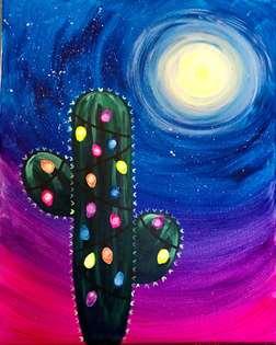 Colorful Christmas Cactus