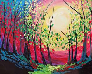 Colorful Copse