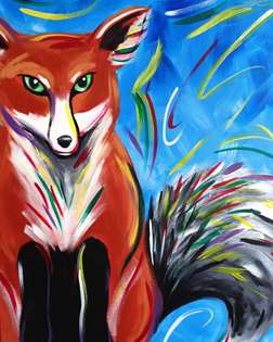 Colorful Fox