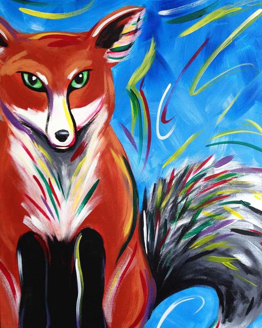 Colorful Fox