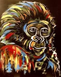 Colorful Gorilla