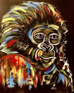 Colorful Gorilla