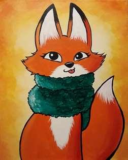 Comfy Cozy Fox