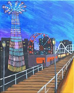 Coney on Canvas