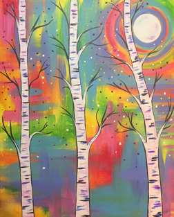 Confetti Birches