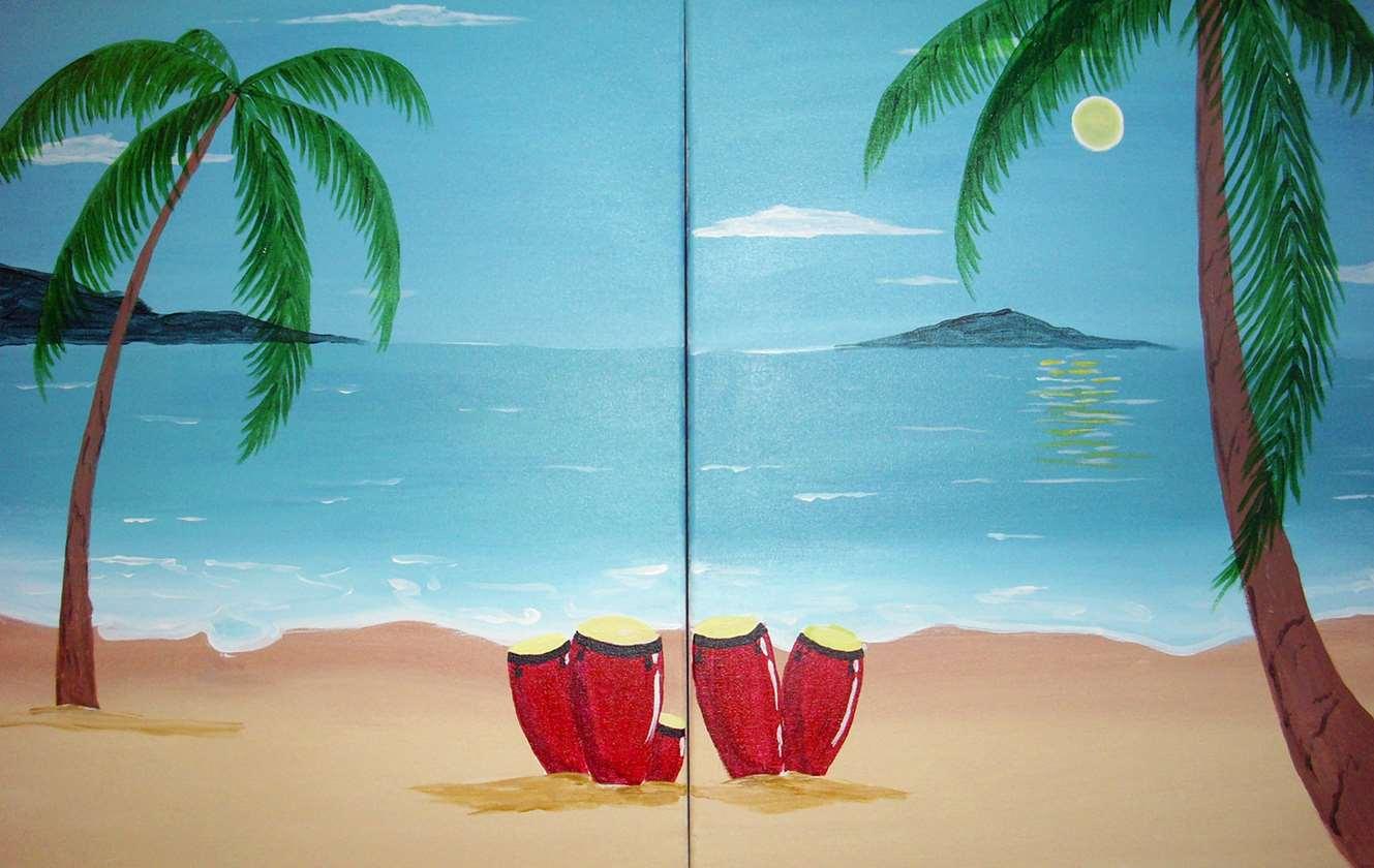 Congas de la Playa (Congas on the Beach)