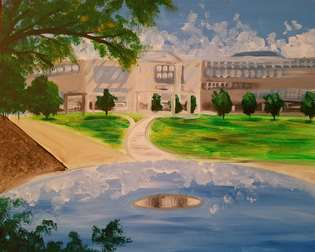 Conoco Phillips Custom Painting