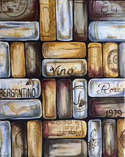 Corks on Canvas