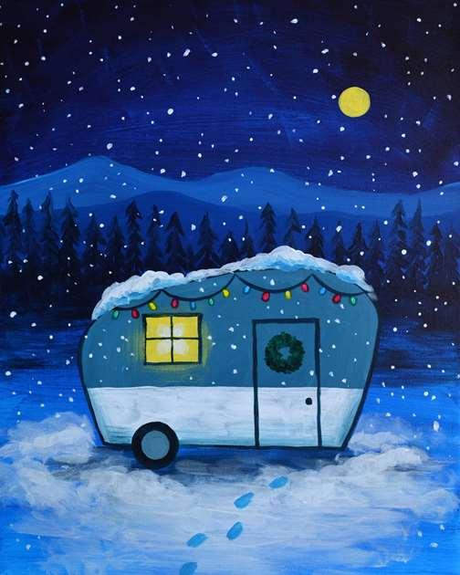 Cozy Holiday Camper