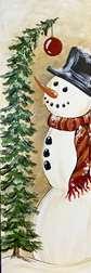 Cozy Rustic Snowman