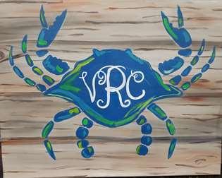 Crabby Monogram