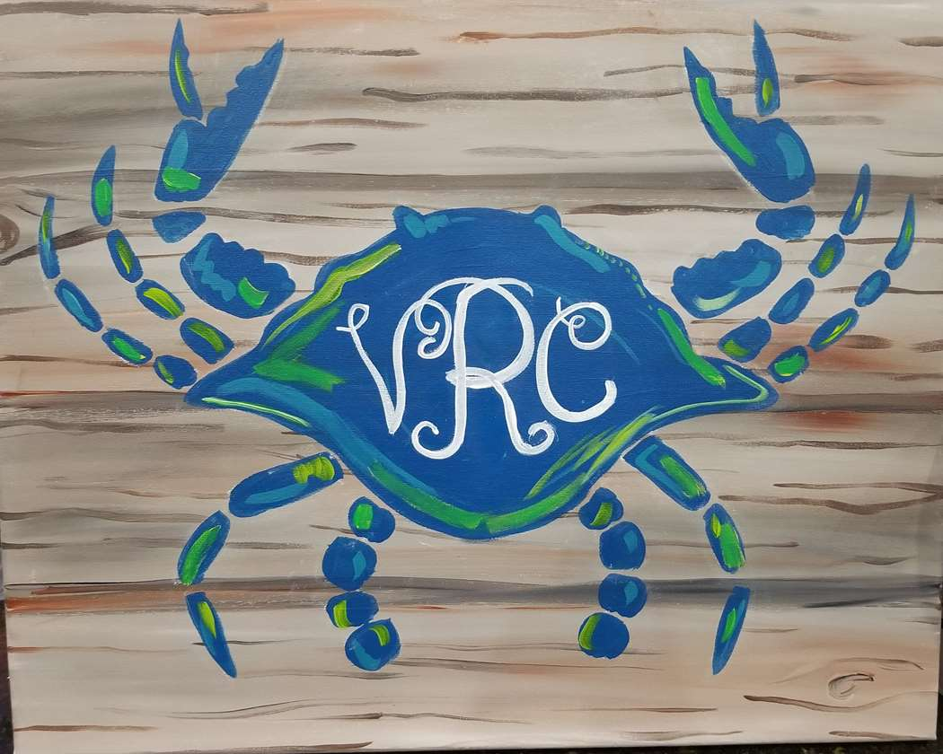 In Studio Event  - Crabby Monogram
