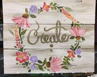 Create Wood Palette
