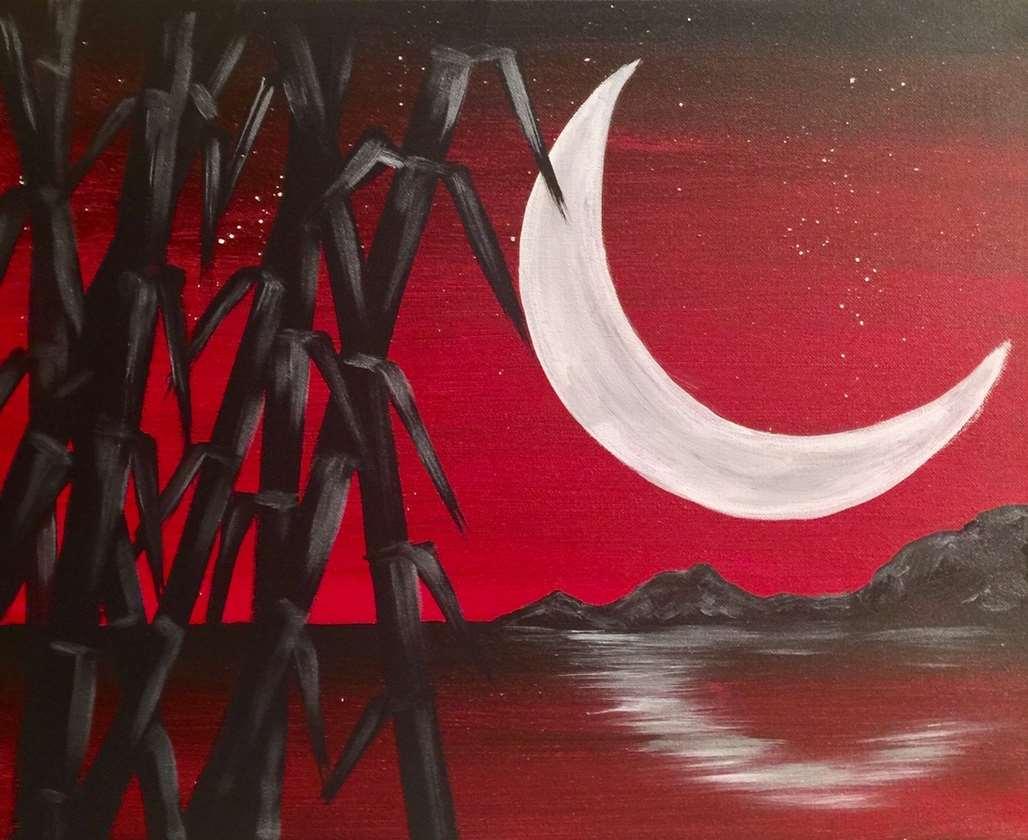 Crescent Moonrise