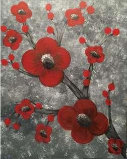 Crimson Blossoms