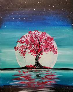 Crimson Tree Moon