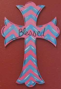 Custom Door Hanger - Cross