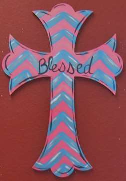 Custom Door Hanger - Cross