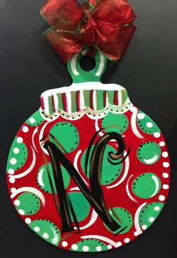 Custom Door Hanger - Ornament