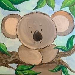 Cute Koala - Take Home Paint Kit