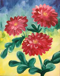 Dancing Dahlias