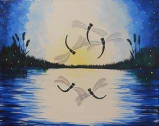 Dancing Dragonflies