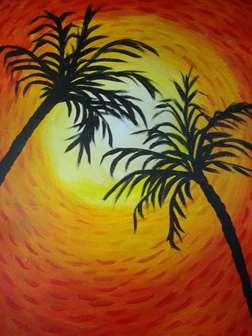 Dancing Palms