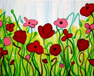 Dancing Poppies