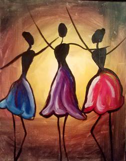 Dancing Trio
