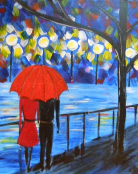 """Date in the Rain"" 2.5 to 3 hour class"