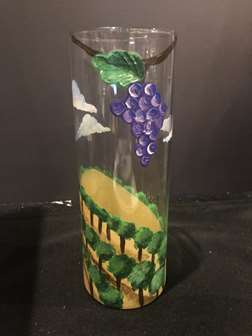 Day at the Vineyard - Vase